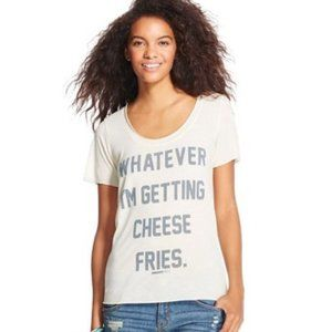 5/25 Mean Girls Cheese Fries Graphic Short Sleeve